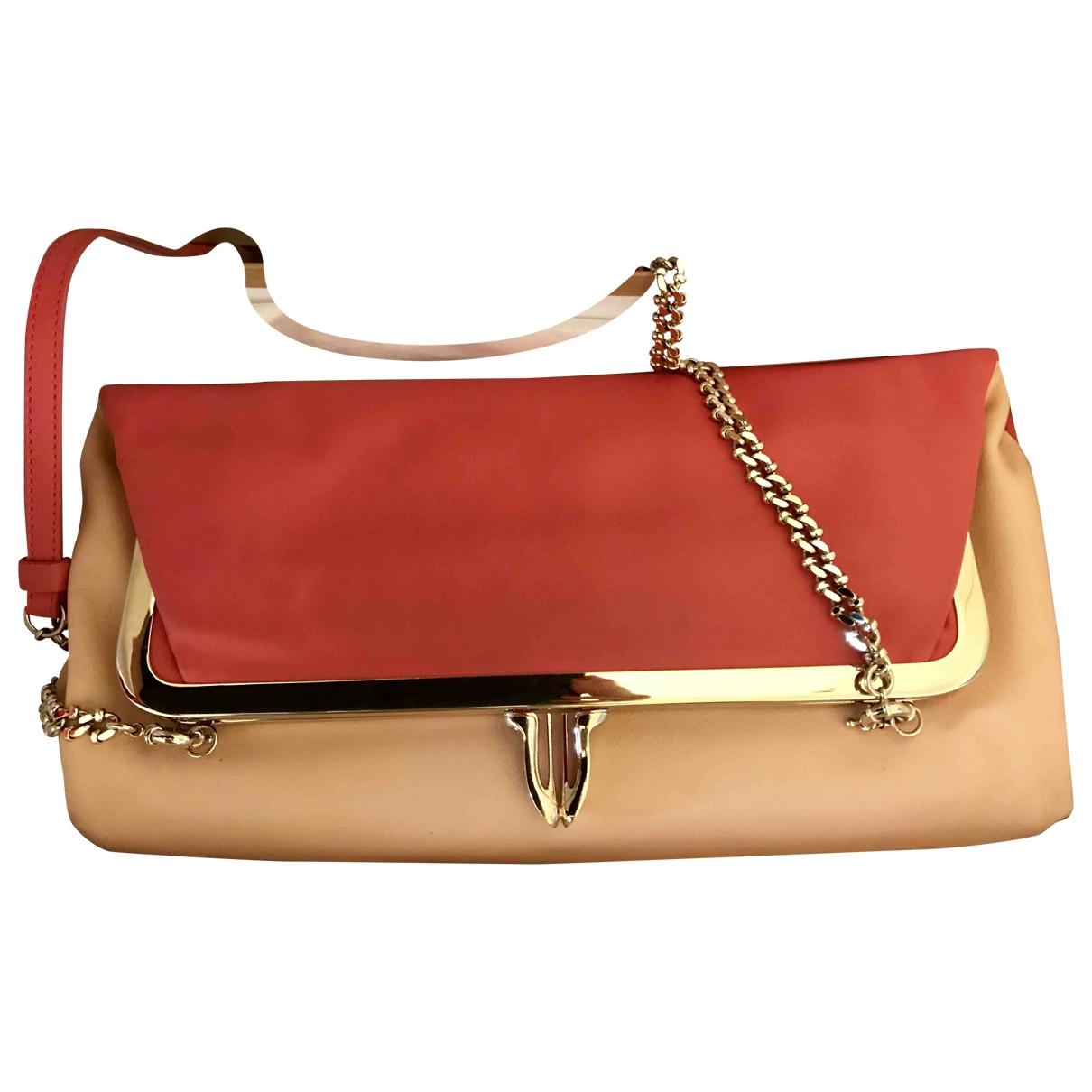Christian Louboutin \N Handtasche in  Rot Leder