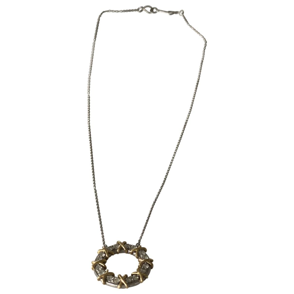 Collar Schlumberger de Oro blanco Tiffany & Co