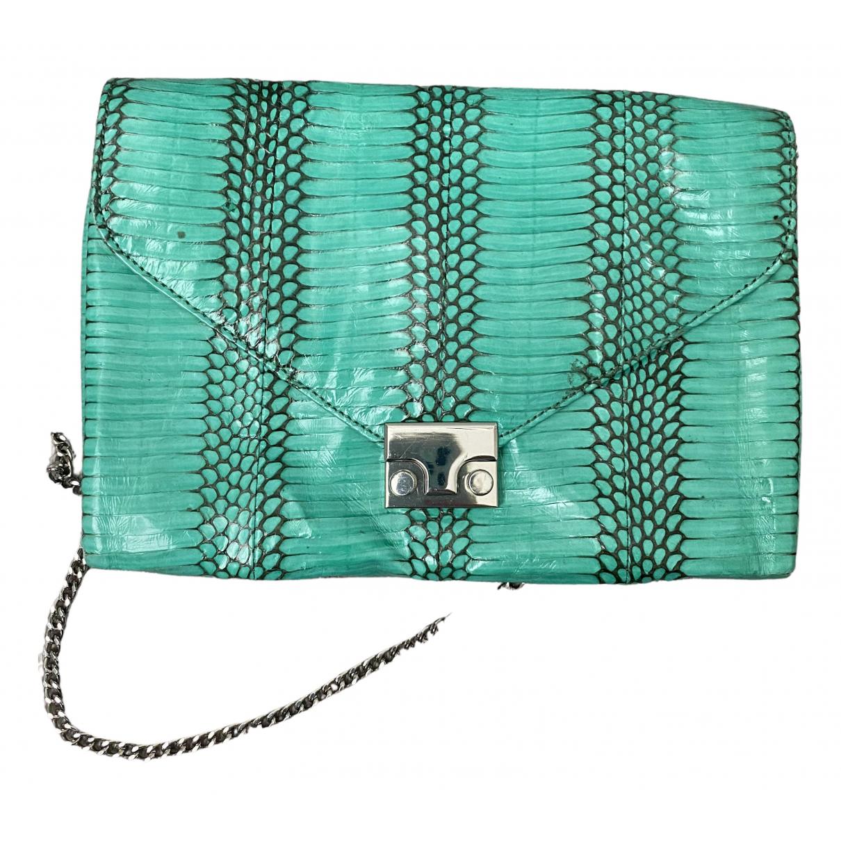 Loeffler Randall \N Green Leather handbag for Women \N