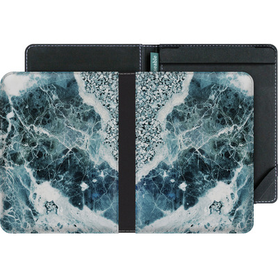 tolino vision eBook Reader Huelle - Blue Sea Marble von Emanuela Carratoni