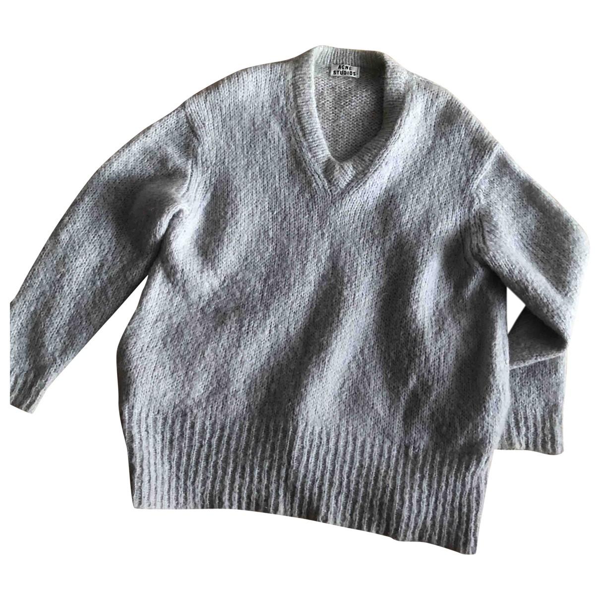 Acne Studios \N Pullover in  Grau Wolle