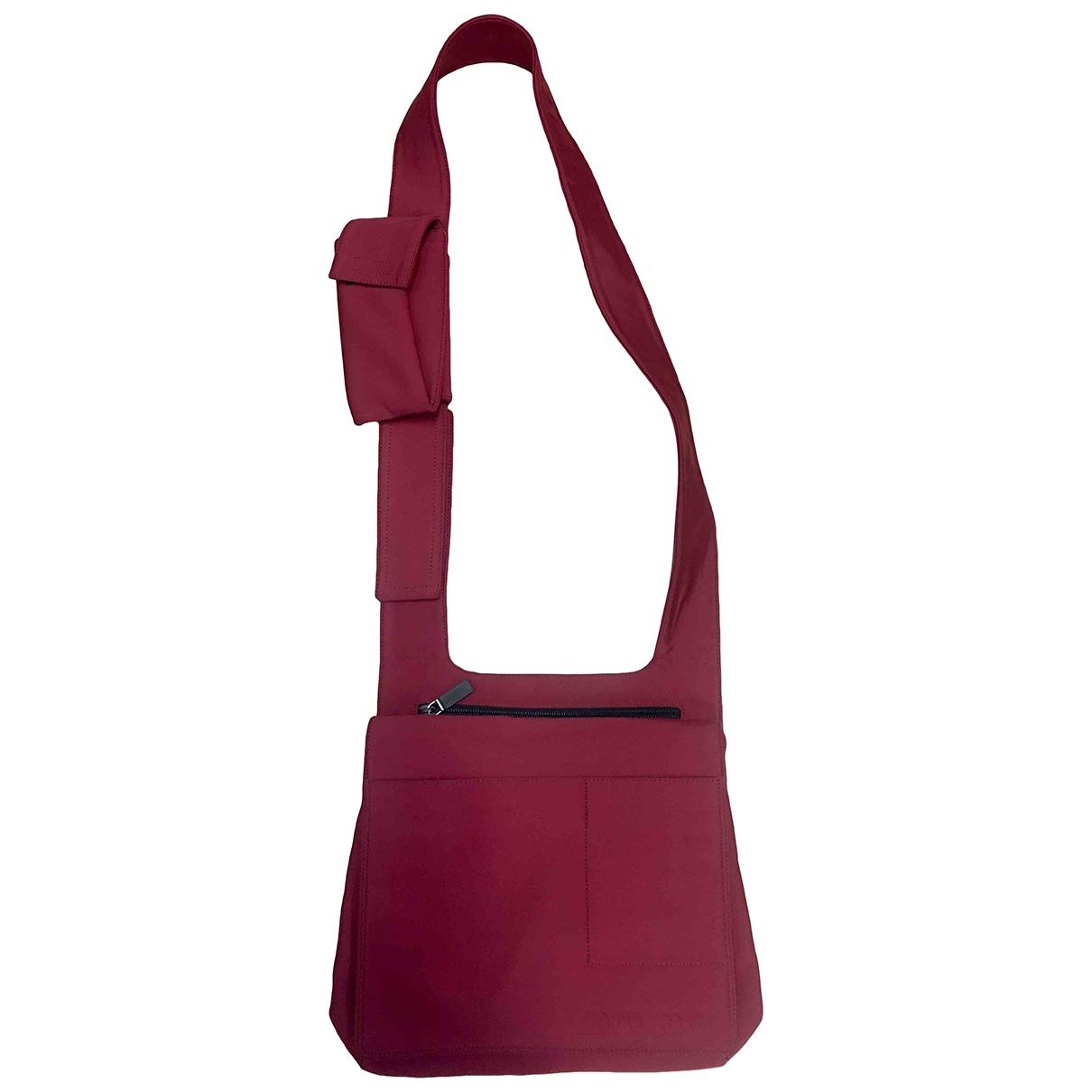 Miu Miu \N Handtasche in  Rot Leinen