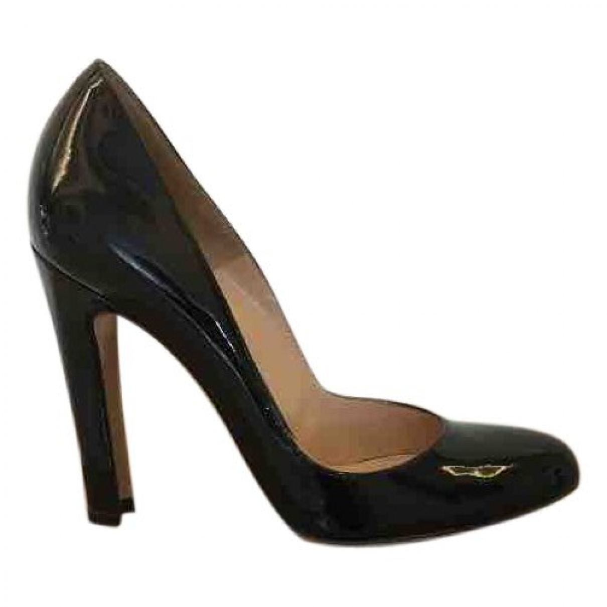 Gianvito Rossi \N Black Patent leather Heels for Women 37 EU