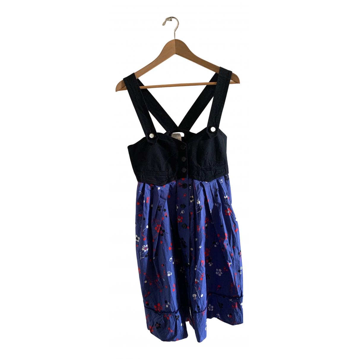 Sonia By Sonia Rykiel \N Kleid in  Bunt Baumwolle