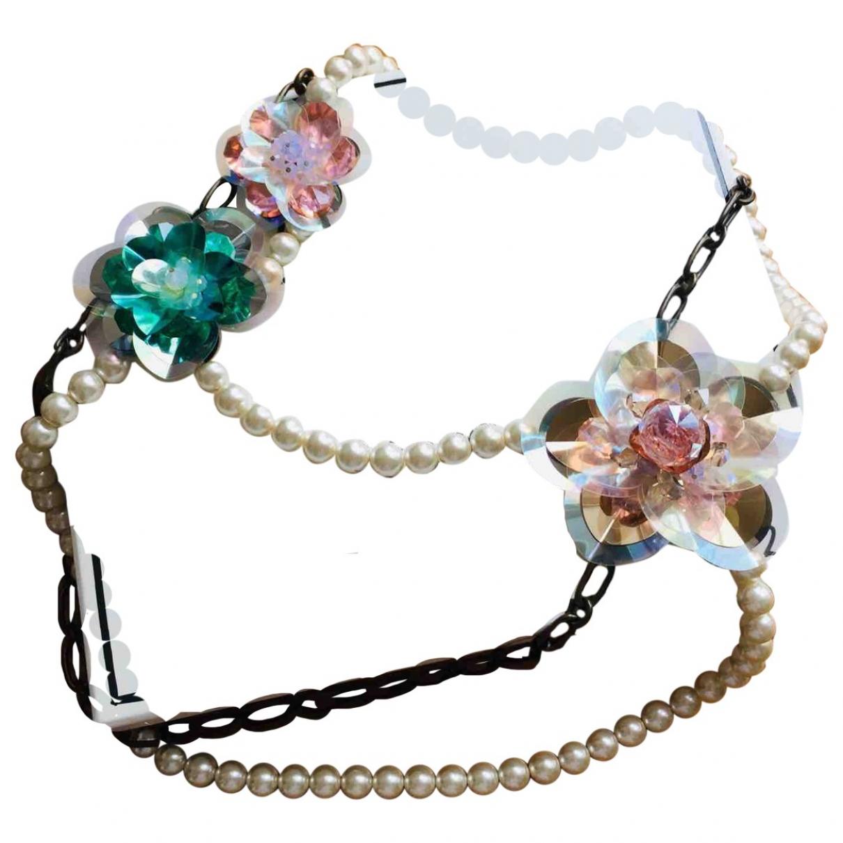 Lanvin For H&m - Collier   pour femme en metal - multicolore