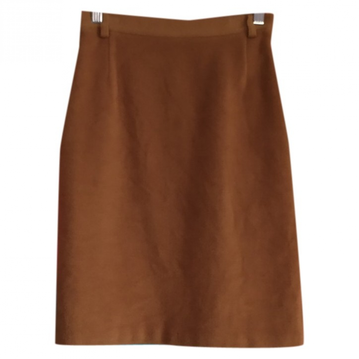 Burberry \N Camel Wool skirt for Women 32 FR