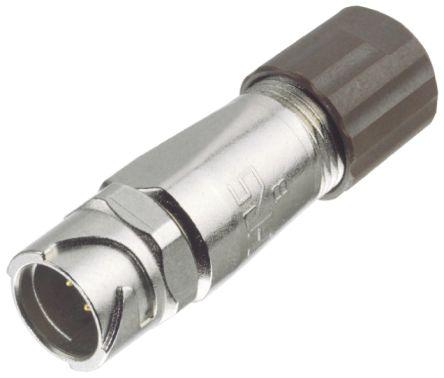 Hirose Circular Connector, 6 contacts Cable Mount Socket, Solder IP67, IP68