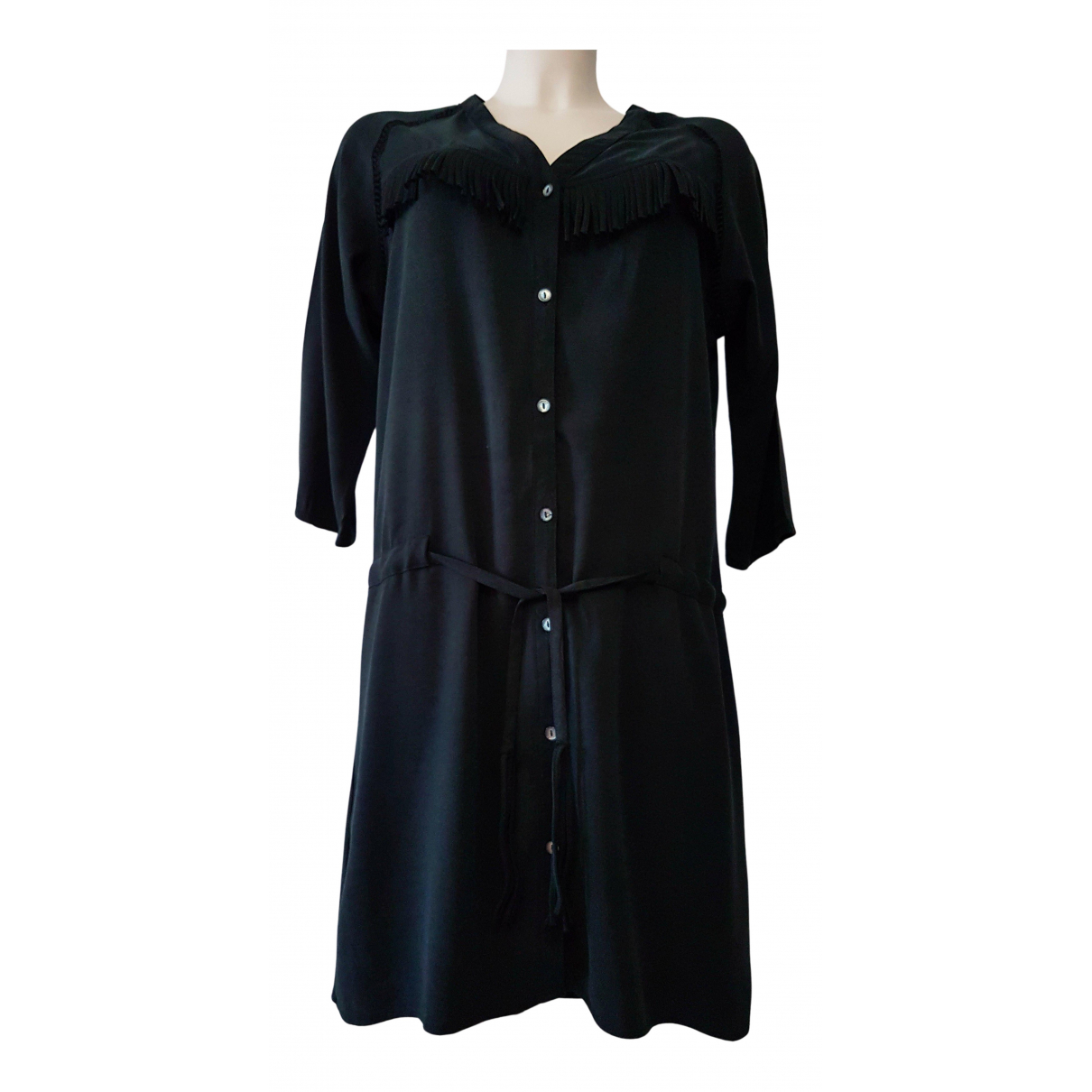 Maison Scotch - Robe   pour femme en coton - noir