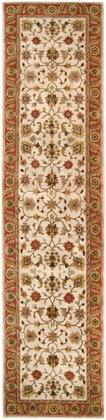 Crowne CRN-6004 3' x 12' Runner Traditional Rug in