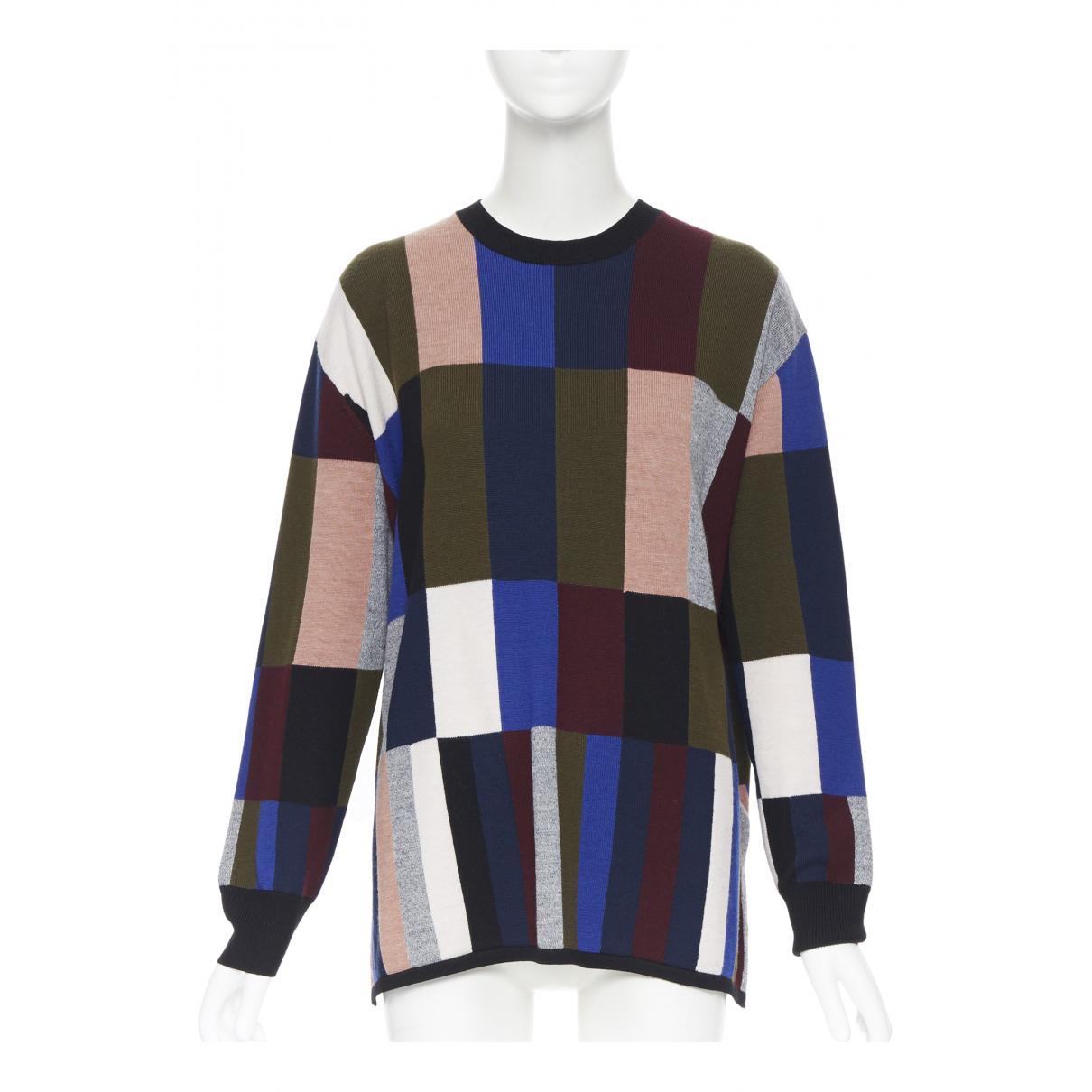 Victoria Beckham - Pull   pour femme en laine - multicolore