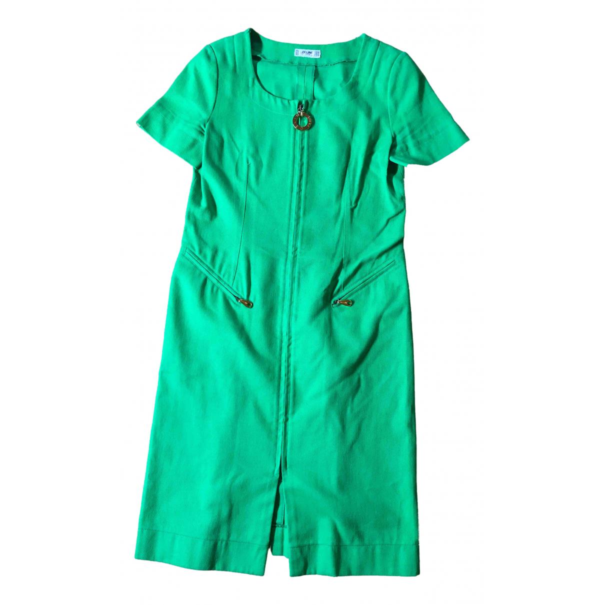 Celine - Robe   pour femme en coton - vert