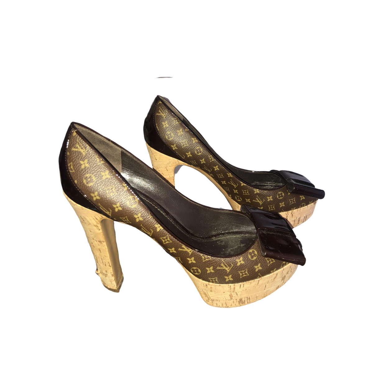 Louis Vuitton \N Brown Leather Heels for Women 40.5 EU