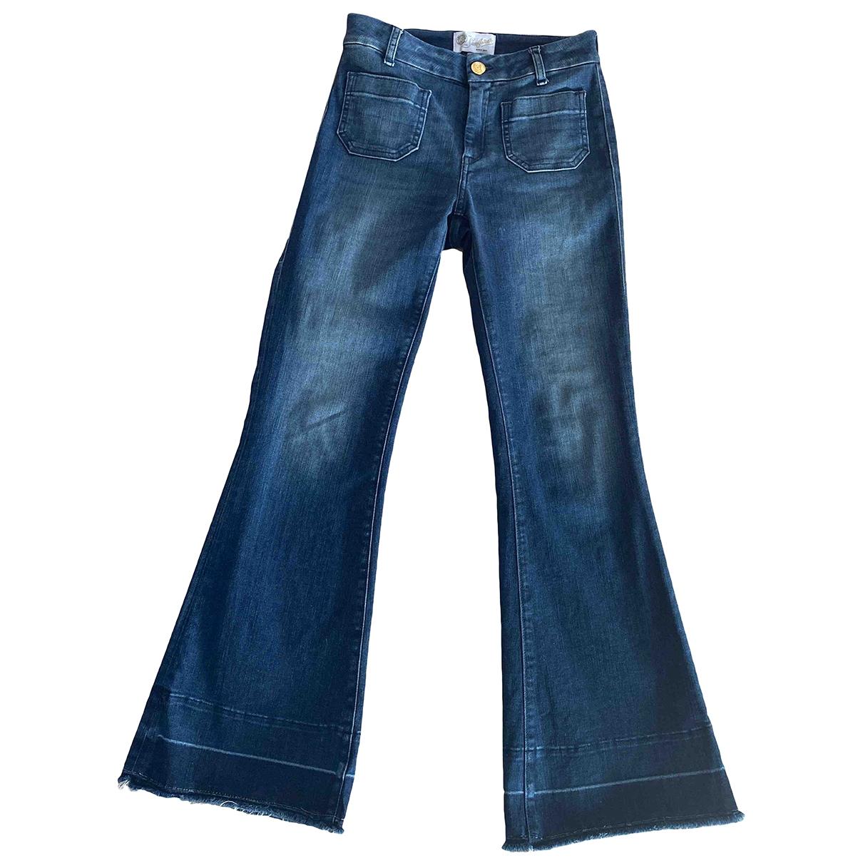 Seafarer \N Blue Cotton - elasthane Jeans for Women 25 US