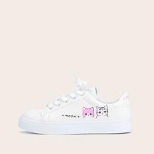 Skate Schuhe mit Band vorn