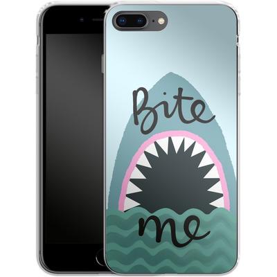 Apple iPhone 8 Plus Silikon Handyhuelle - Bite Me von caseable Designs