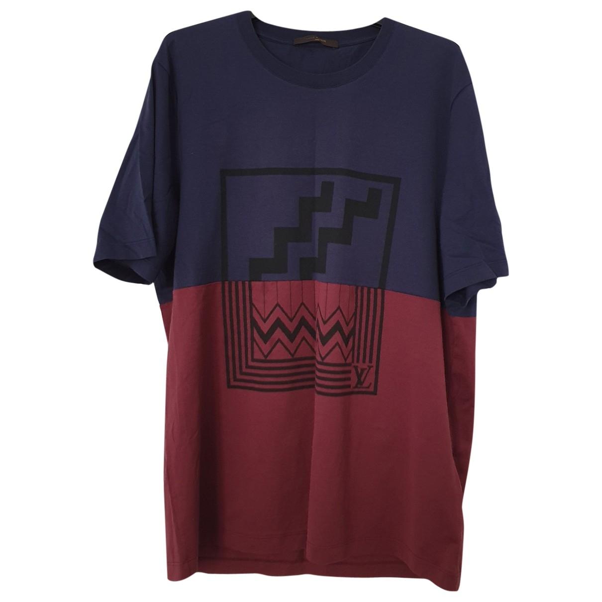 Louis Vuitton - Tee shirts   pour homme en coton - multicolore