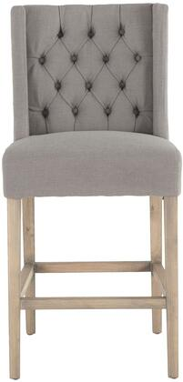 Chloe Collection ZWCL83-OWGN Counter Chair with Napoleon Legs in