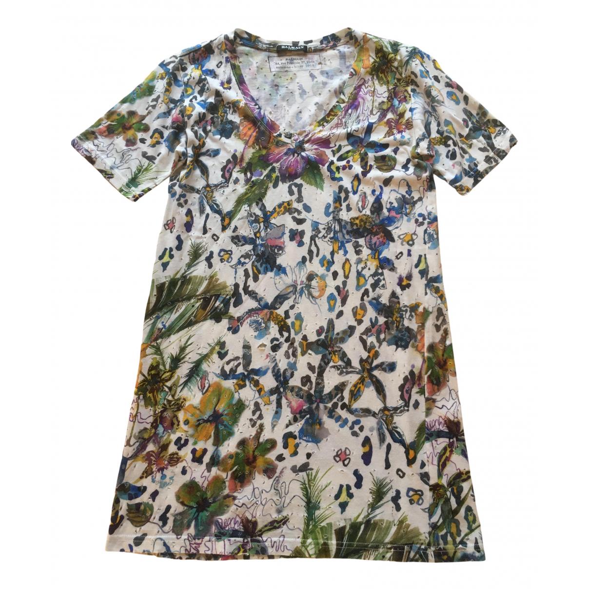 Balmain N Multicolour Cotton  top for Women 38 FR