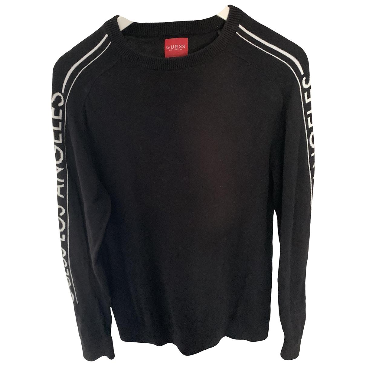 Guess \N Pullover.Westen.Sweatshirts  in  Schwarz Baumwolle