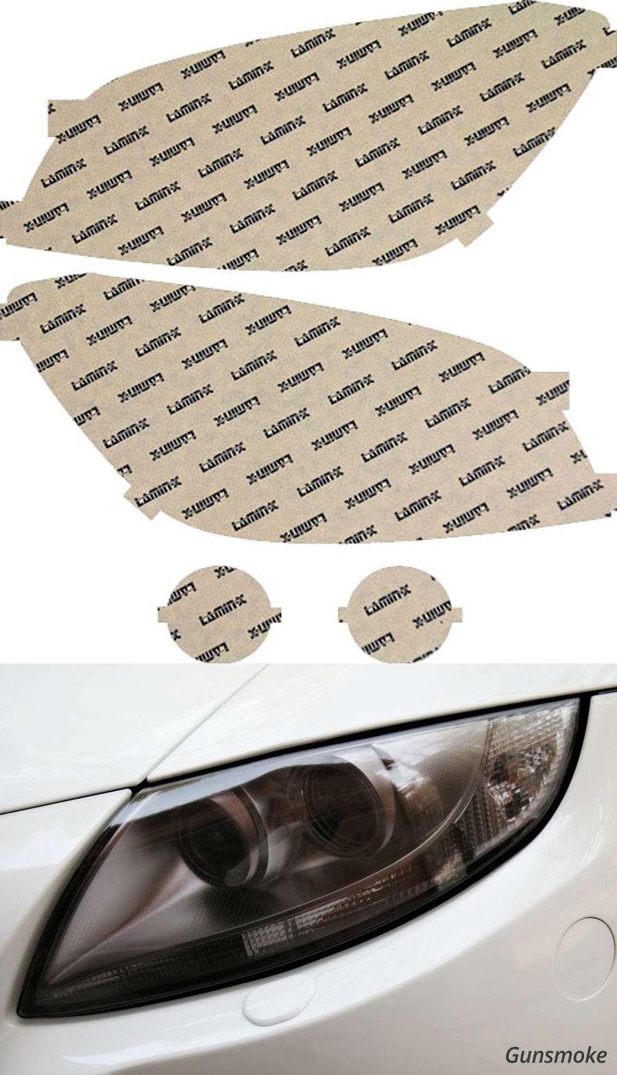 Toyota Rav4 09-12 Gunsmoke Headlight Covers Lamin-X T022G