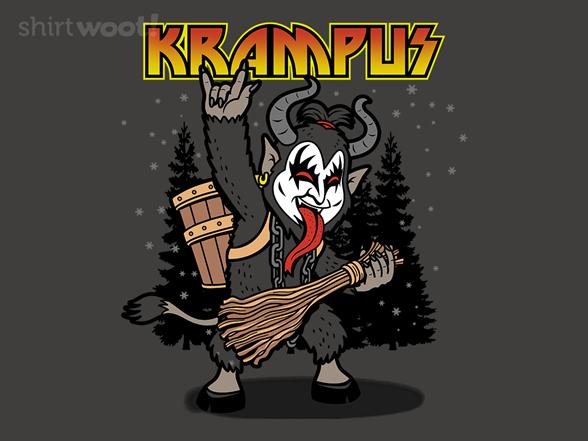 Kiss The Krampus T Shirt