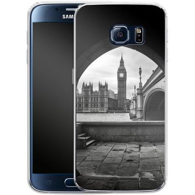 Samsung Galaxy S6 Silikon Handyhuelle - Houses Of Parliament von Ronya Galka