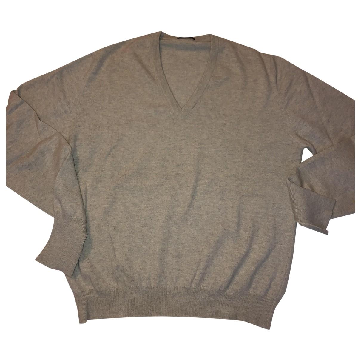 Ballantyne \N Pullover.Westen.Sweatshirts  in  Beige Kaschmir