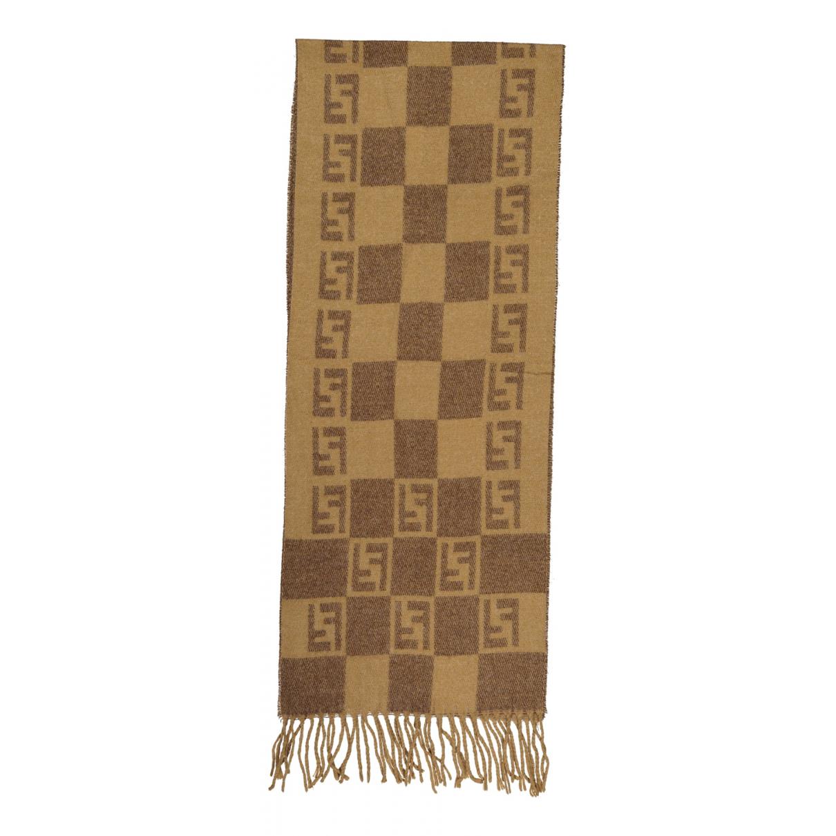 Fendi \N Schal in  Braun Wolle
