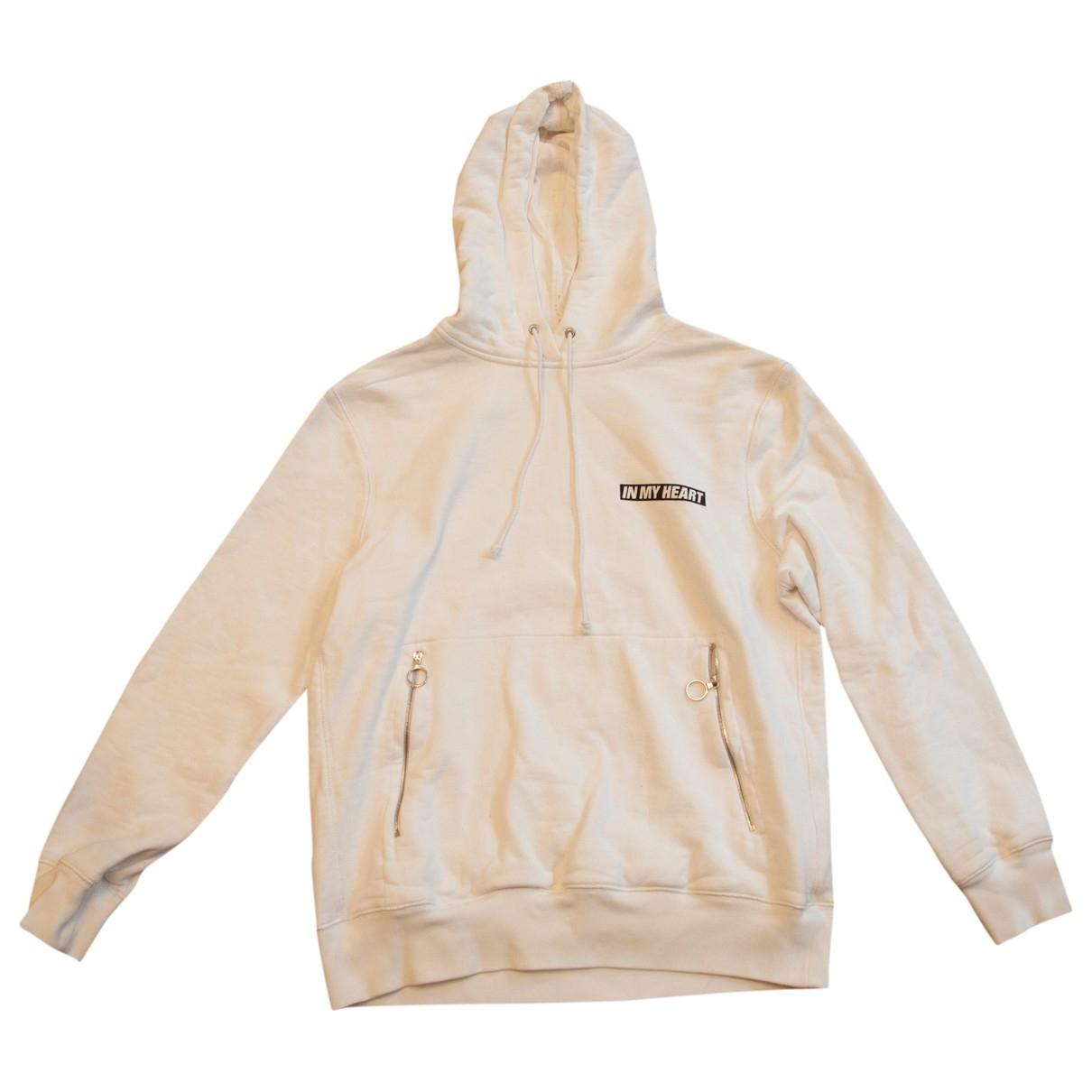 Tim Coppens \N Pullover.Westen.Sweatshirts  in  Weiss Baumwolle