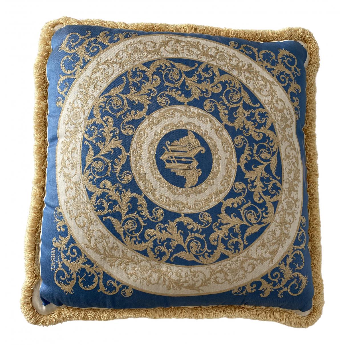 Versace - Linge de maison   pour lifestyle en soie - bleu