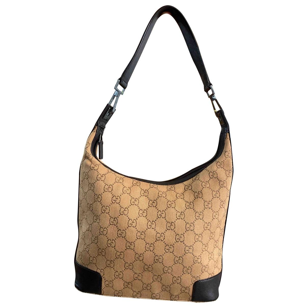 Gucci Hobo Handtasche in Leinen