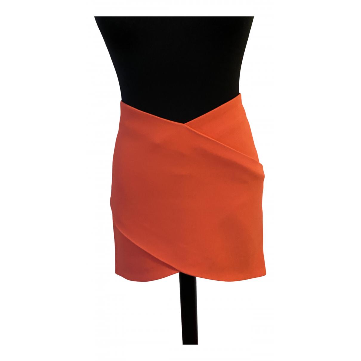 Mugler - Jupe   pour femme - orange