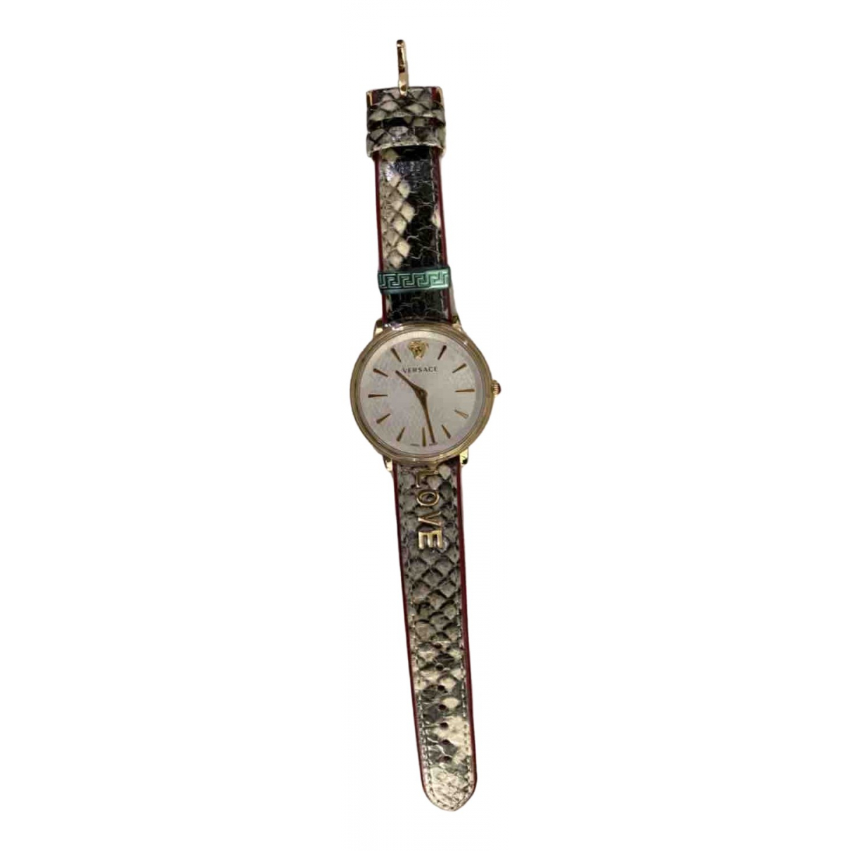 Versace \N Gold plated watch for Women \N