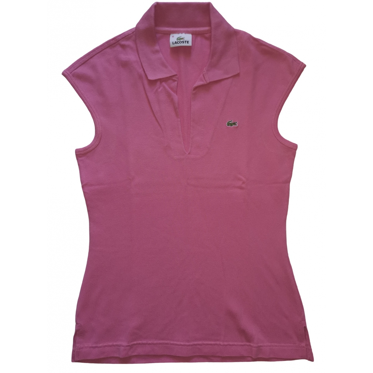 Lacoste \N Pink Cotton  top for Women 36 FR