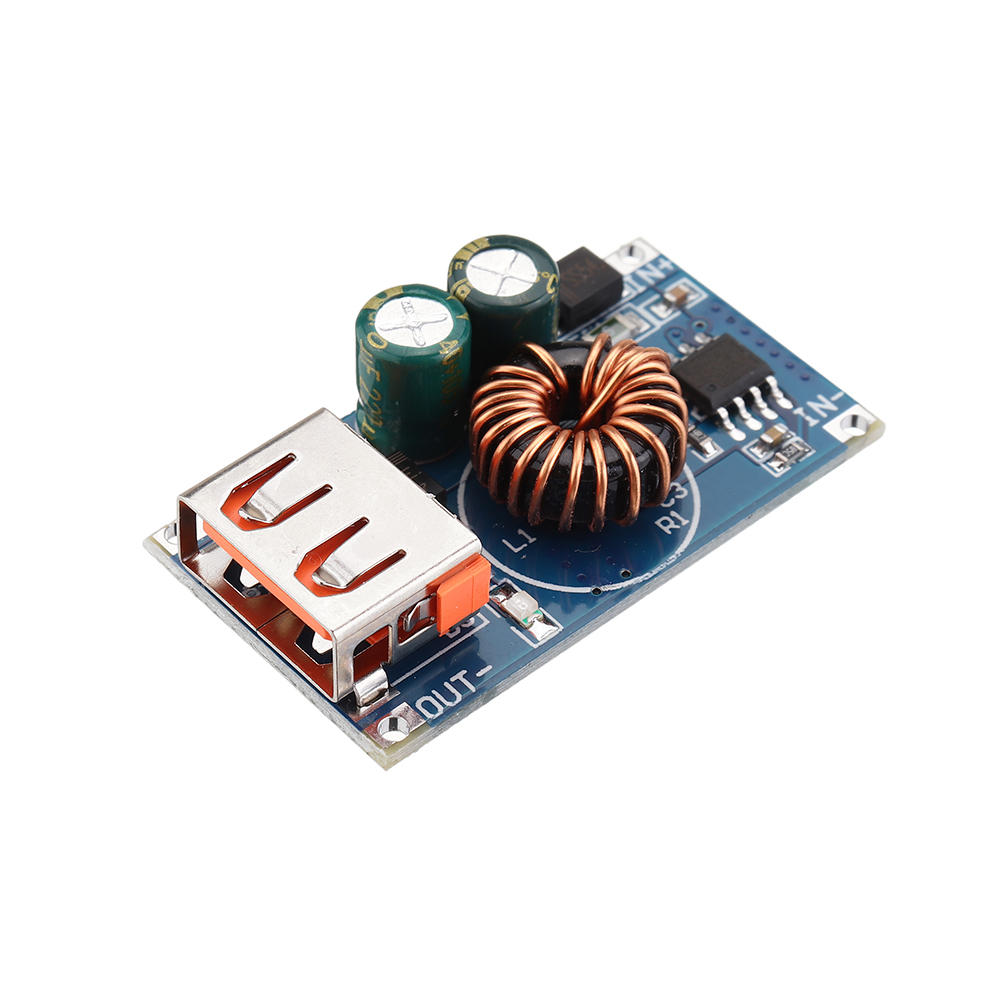 DC12V24V to DC5V QC3.0 Fast Charge Module Step Down Module USB Mobile Phone Charge DIY Car Voltage Converter