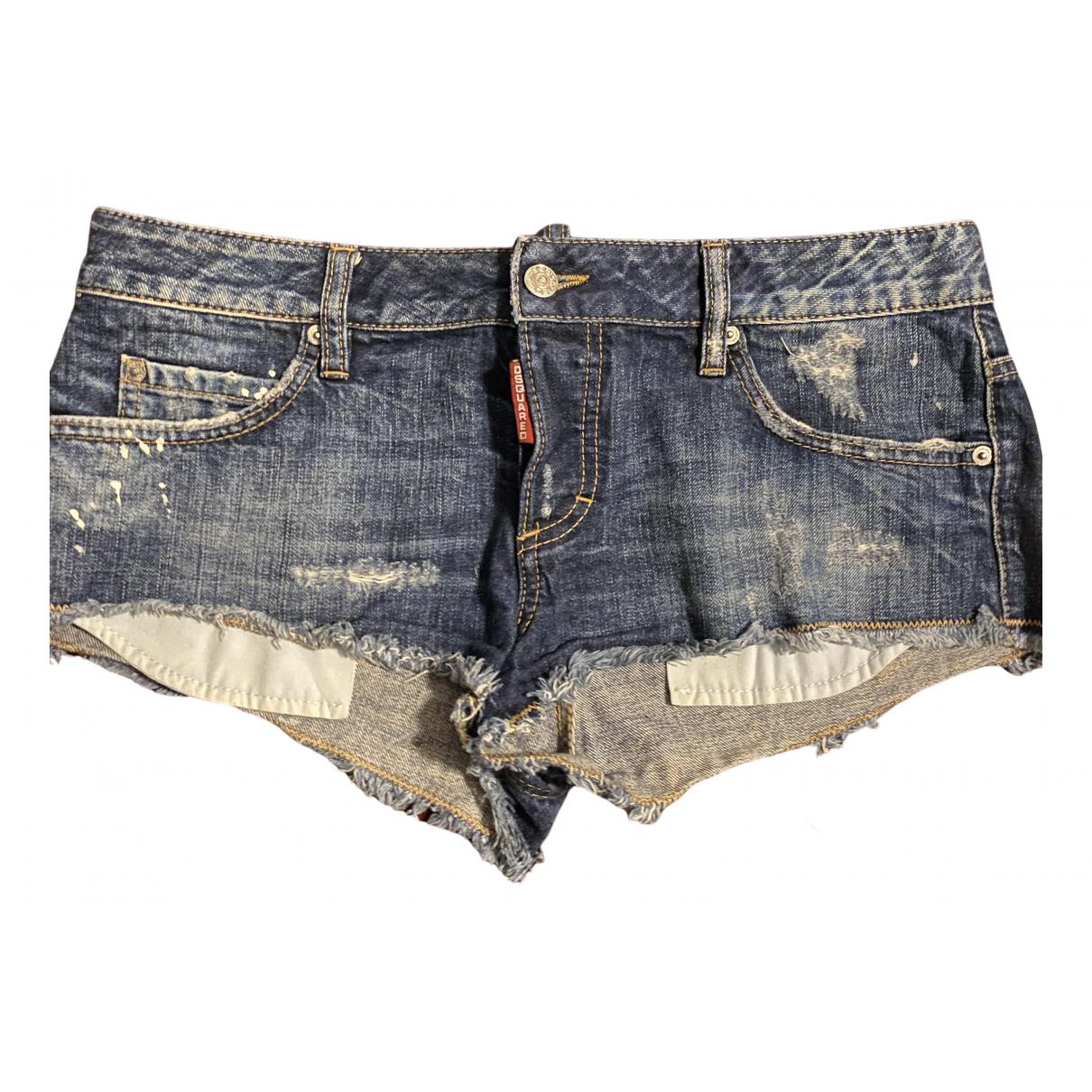 Dsquared2 \N Shorts in  Blau Denim - Jeans