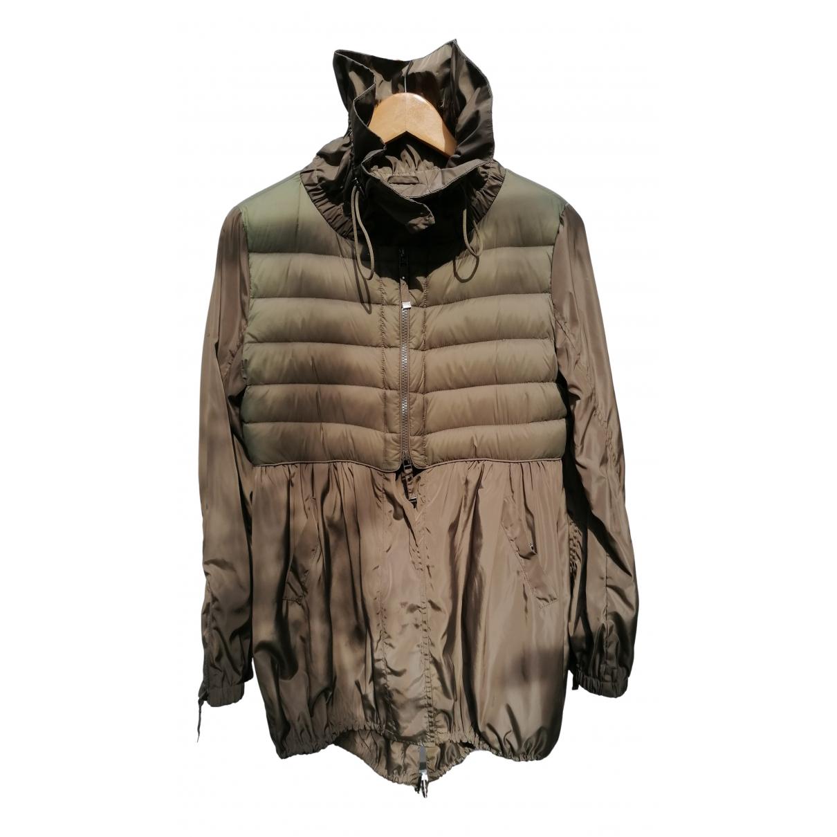 Pinko - Manteau   pour femme en polyamide - gris / taupe