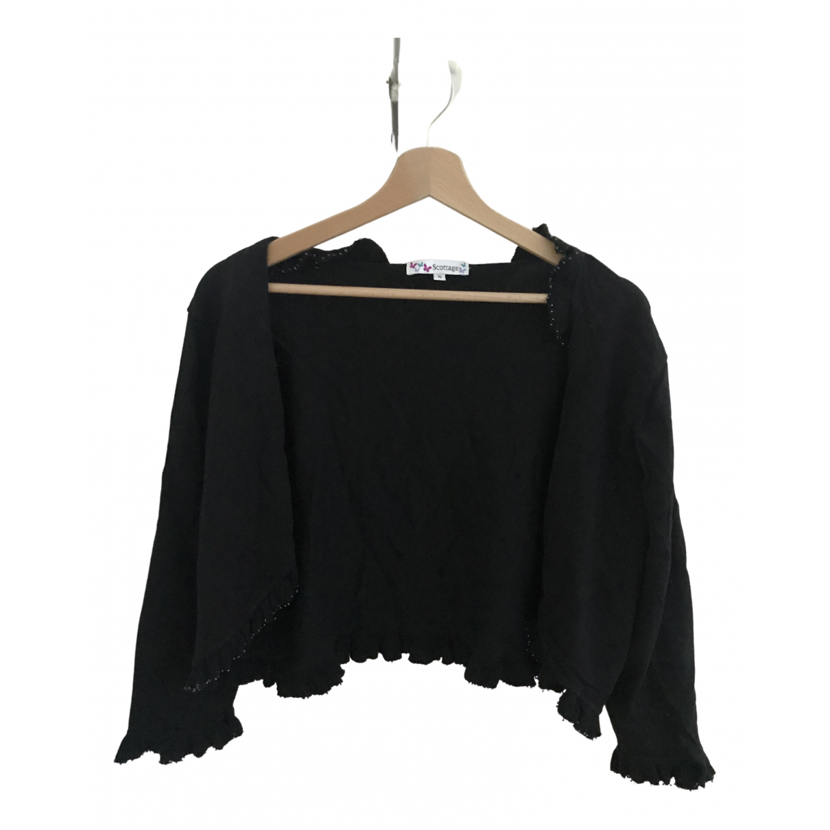 Non Signé / Unsigned \N Black Knitwear for Women 44 FR