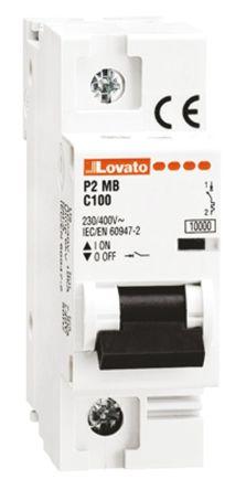 Lovato ModuLo 125 A MCB Mini Circuit Breaker, 1P Curve C