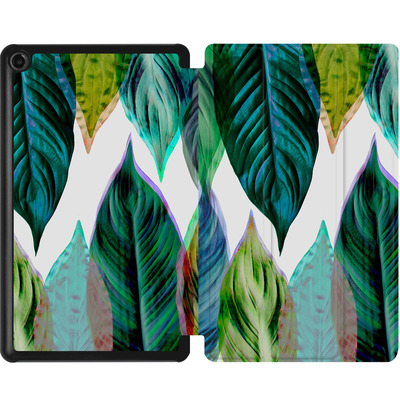 Amazon Fire 7 (2017) Tablet Smart Case - Green Leaves von Mareike Bohmer