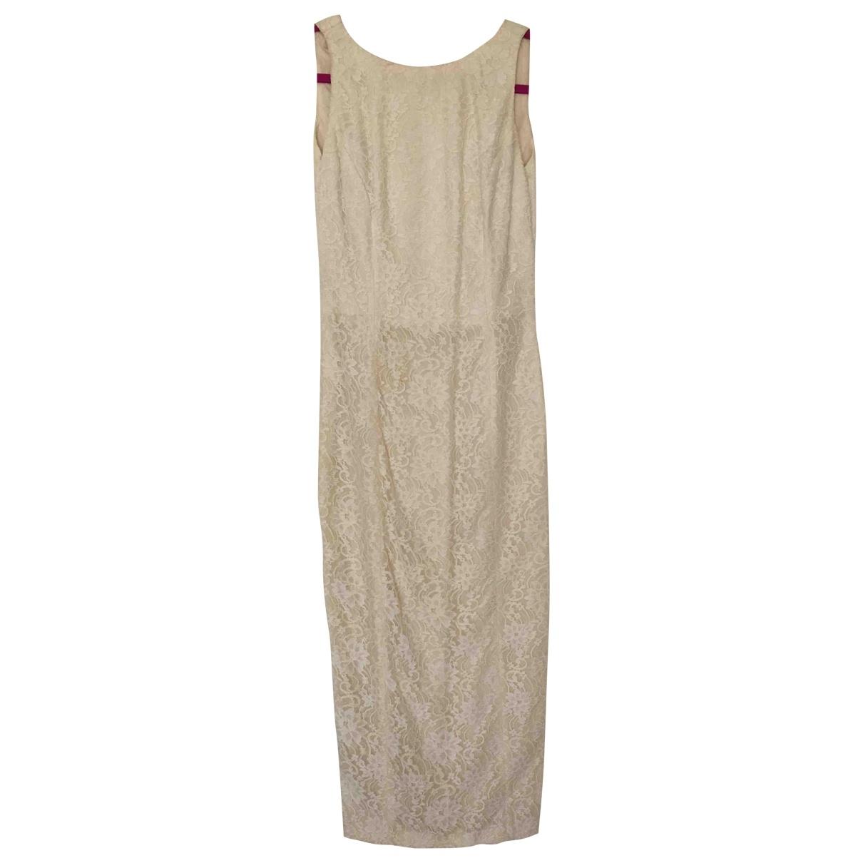- Robe   pour femme en dentelle - ecru