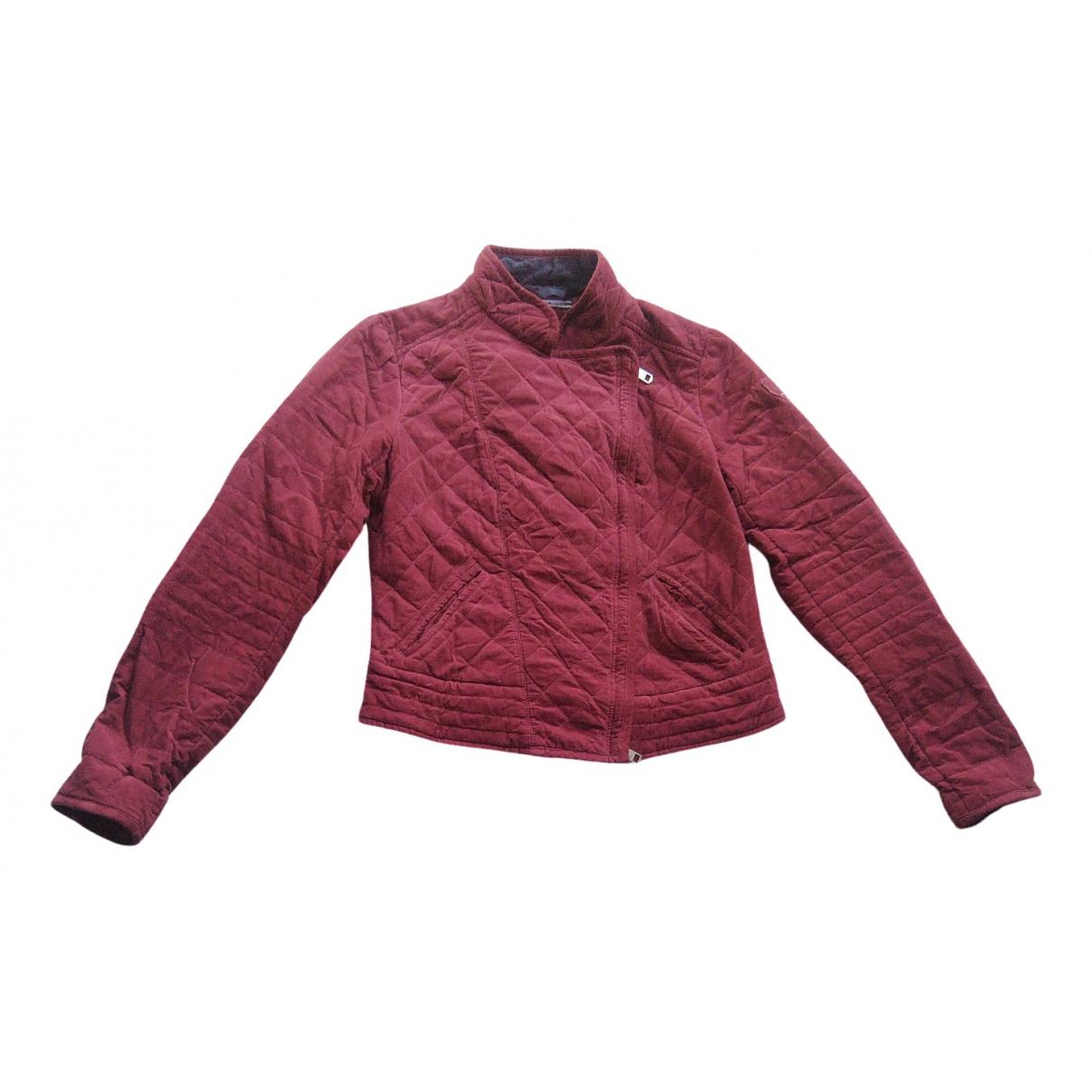 Tommy Hilfiger \N Burgundy jacket for Women S International