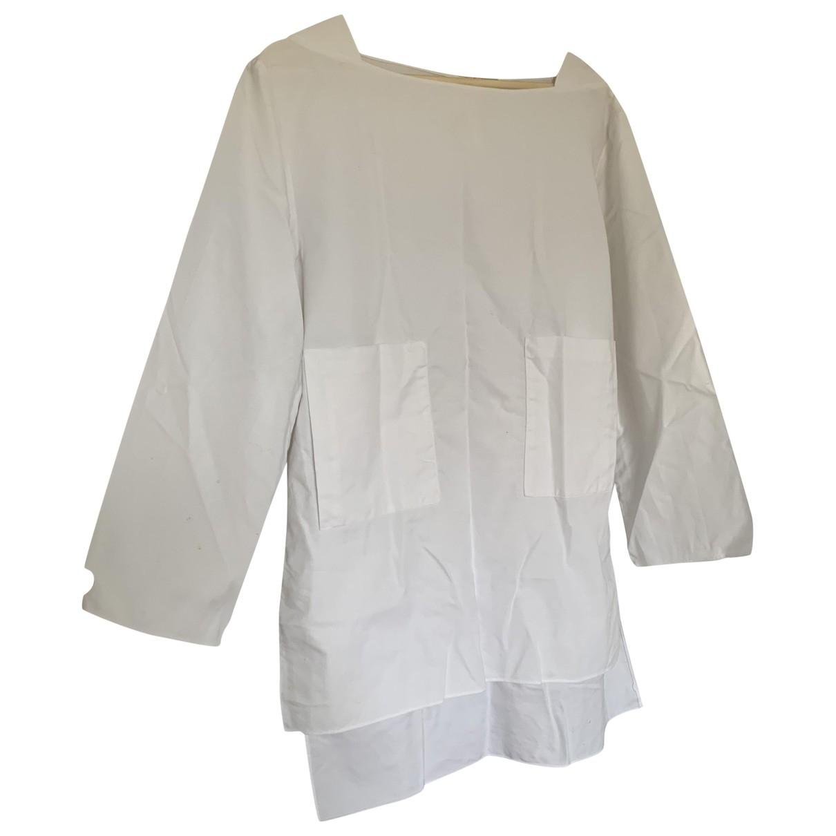 Adam Lippes - Top   pour femme en coton - blanc