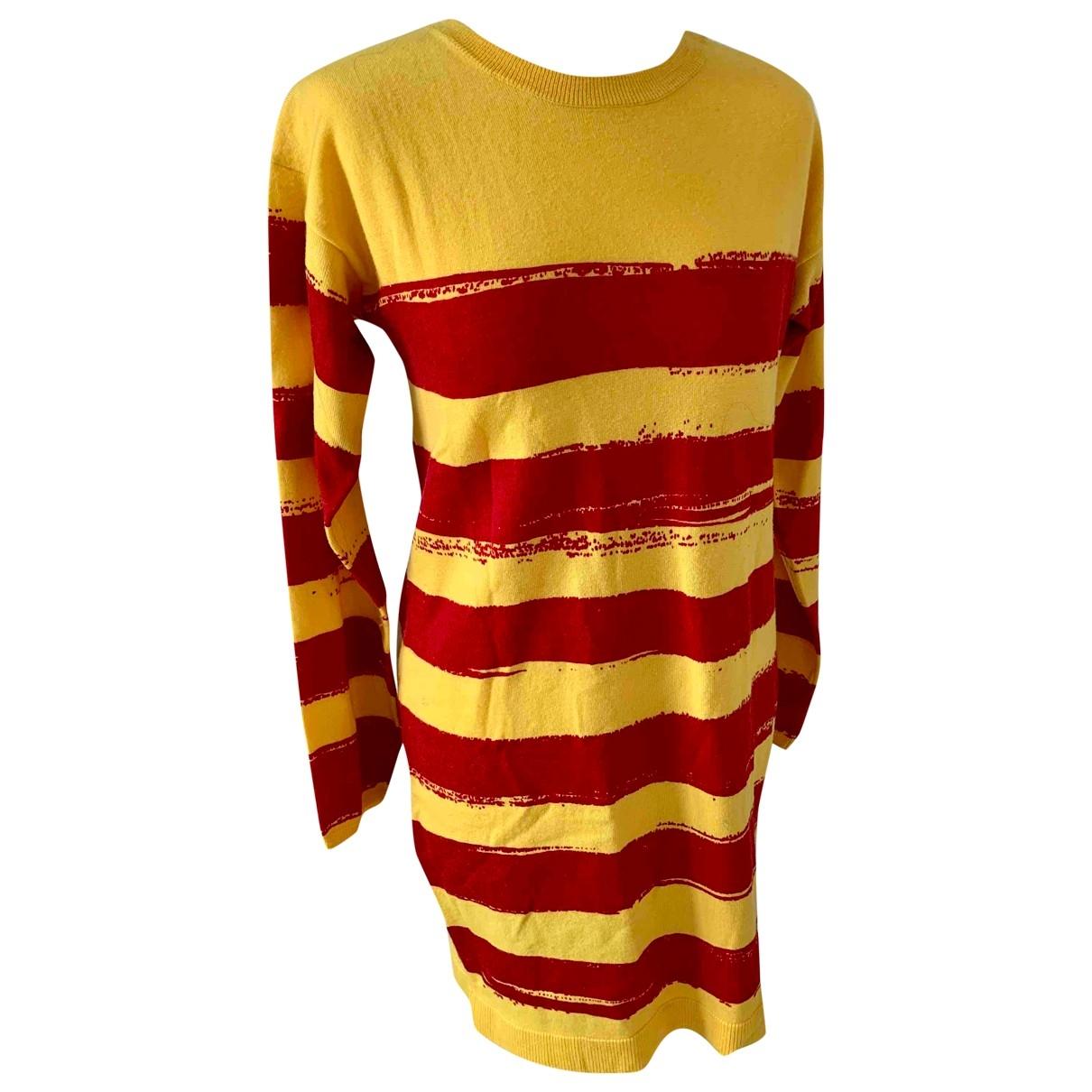 Dsquared2 - Robe   pour femme en laine - jaune