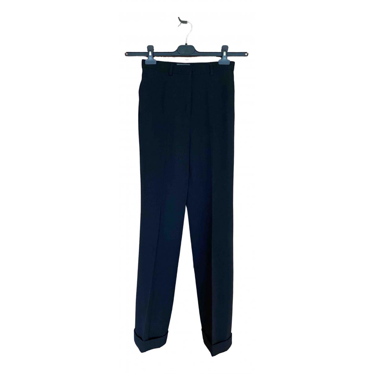 Pantalon recto de Lana Versus