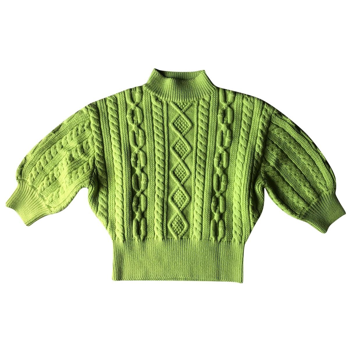 Louis Vuitton \N Green Wool Knitwear for Women XS International