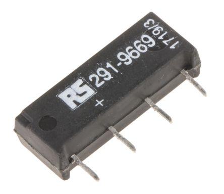 Meder SPNO reed relay,1A 5Vdc coil