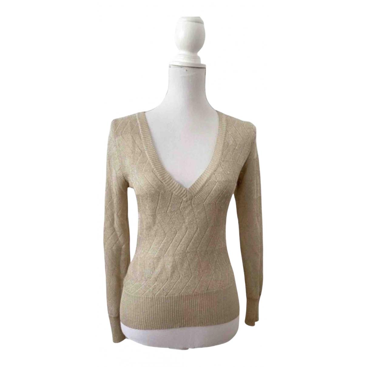 Filippa K - Pull   pour femme en coton - dore