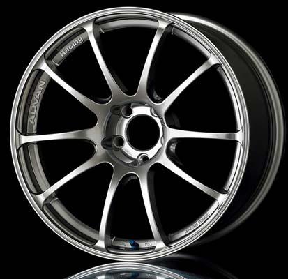 Advan RZ Wheel 18x10 5x114.3 25mm Hyper Silver