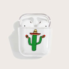 Funda de airpods transparente